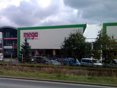 MEGA-Einkaufscenter